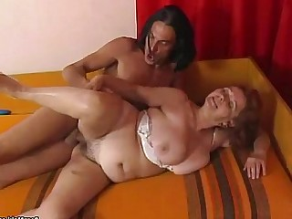 Dildo Fuck Granny Hairy Hardcore Mammy Mature Old and Young