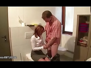 Cumshot Hot Mammy Mature MILF Uniform