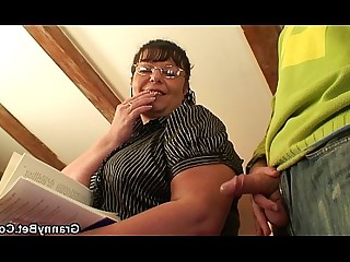 BBW Granny Hot Mature Old and Young Playing Pleasure Pussy