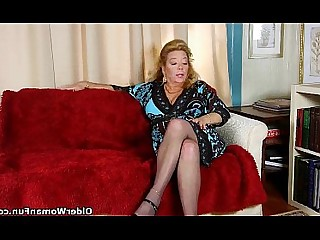 Cougar Fetish Granny HD Mammy Mature MILF Nylon
