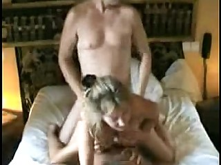 Double Penetration Mature Threesome