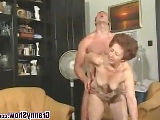 Granny Hardcore Horny Mature Old and Young Teen