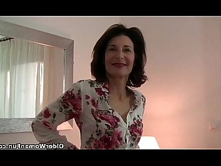 Cougar Fingering Granny Hairy HD Mammy Mature Pleasure