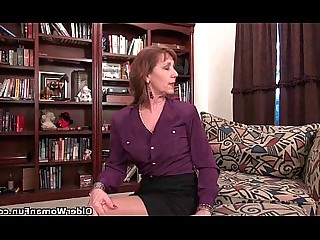 Cougar Granny HD Mammy Mature Nylon Panties Solo