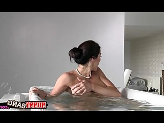 Bathroom Blowjob Hardcore Hot Mature MILF Old and Young Teen