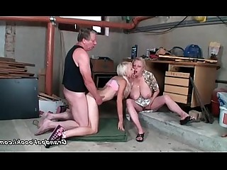 Babe Blonde Granny Hardcore Hot Mature Teen Threesome