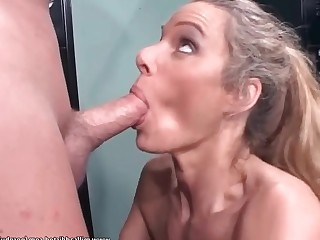 Big Tits Blonde Blowjob Boobs Bus Busty Big Cock Crazy